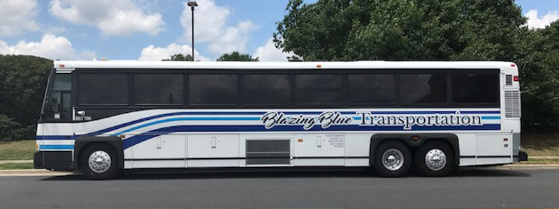 Side View of Bus